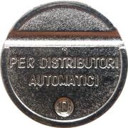 Token - Gettone Apparecchi Automatici (D) – obverse