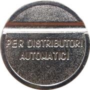Token - Gettone Apparecchi Automatici (D) – reverse