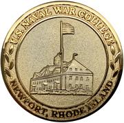 Challenge Coin - U.S. Naval War College (Newport, Rhode Island) – obverse