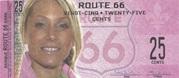 25 cents - Route 66 – obverse