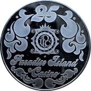 25 Dollars - Paradise Island Casino (Nassau) – obverse