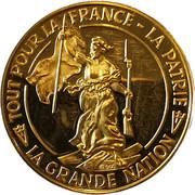 Medal - Charles De Gaulle - Anniversary – reverse