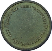 Token - Automatic Holland (22 mm) – reverse
