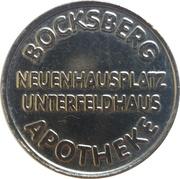 1 Bocksberg Mark - Bocksberg Apotheke (Erkrath-Unterfeldhaus) – obverse