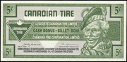 5 Cents - Canadian Tire Coupon – obverse