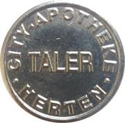 1 Taler - City Apotheke (Herten) – reverse