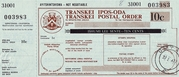 10 Cents - Transkei Postal Order (South Africa) – obverse
