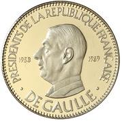 Token - Présidents de la République française (De Gaulle) – obverse