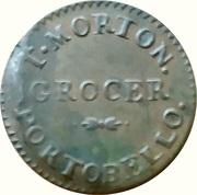 1 Farthing - T. Morton, Grocer (Dublin, Ireland) – obverse