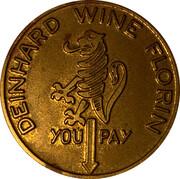 Spinner Token - Deinhard Wine Florin (Coblenz) – obverse