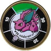 Pokémon Battle Coin (#32 Nidoran ♂) – obverse