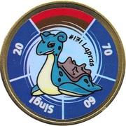 Pokémon Battle Coin (#131 Lapras) – obverse