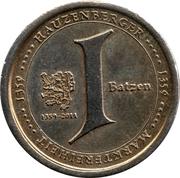 1 Batzen (Hauzenberger) – obverse