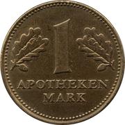 1 Apotheken Mark - Dr. Ising GmbH (Heubach) – obverse