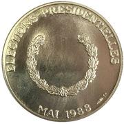 Token - Elections présidentielles de mai 1988 - Mitterrand -  obverse