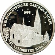 Weihnachtstaler - Castrop-Rauxeler (St. Lambertus Kirche) – obverse