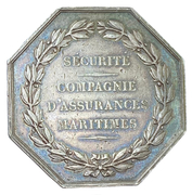 "Token - Maritime insurance ""Sécurité"" – reverse"