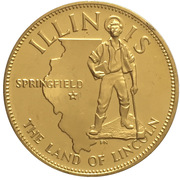 Medal - States of the Union (Illinois) – obverse