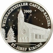 Weihnachtstaler - Castrop-Rauxeler (St. Josef Kirche) – obverse