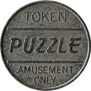 Amusement Token - Puzzle – obverse
