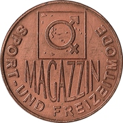 Token - 4 prozent Magazzin (Graz) – obverse