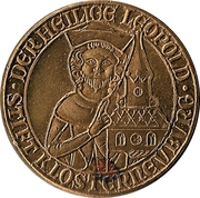 Token - Leopold III, Margrave of Austria (Klosterneuburg) – obverse