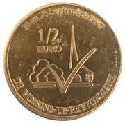 ½ Euro - Voisins-le-Bretonneux – reverse