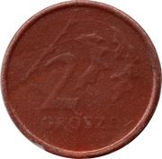 2 Grosze (Play money) – reverse