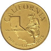 Medal - States of the Union (California) – obverse