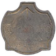 Laundry Token - Coinamatic (Mississauga, Ontario) – obverse
