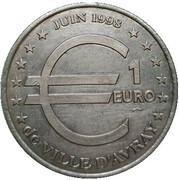 1 Euro - Ville-d'Avray – reverse