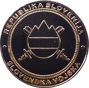 Token - Slovenska vojska (Generalštab) – reverse