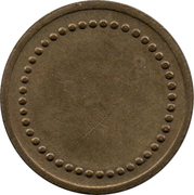 Blank Token (44 beads; 21 mm) – obverse