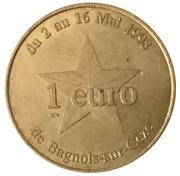 1 Euro - Bagneux-sur-Cèze – reverse