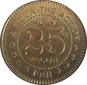 25 Cents - Keystone Pizza (Boise, Idaho) – reverse