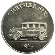 Token - Sunoco Antique Car Coin Series 2 (Chrysler Six; Instant Winner) – obverse