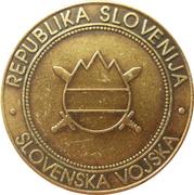 Token - Slovenska vojska (74. OKMB) – reverse