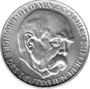 Token - Otto von Bismarck – obverse