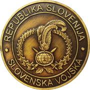 Token - Slovenska vojska (10. MOTB - 1. BRSV, Sokolji udar) – reverse