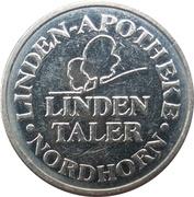 Linden Taler - Linden Apotheke (Nordhorn) – obverse