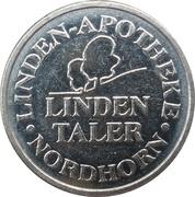 Linden Taler - Linden Apotheke (Nordhorn) – reverse