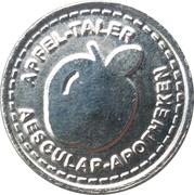 Apfel Taler - Aesculap Apotheken (Regensburg) – obverse
