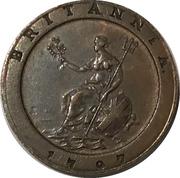 Token - Van Riebeeck Coffee replica (Cartwheel Penny 1797) – obverse