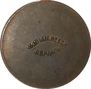 Token - Van Riebeeck Coffee replica (Cartwheel Penny 1797) – reverse