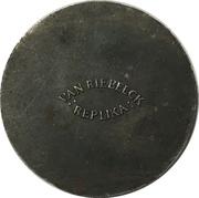 Token - Van Riebeeck Coffee Replica (Ducat 1769) – reverse