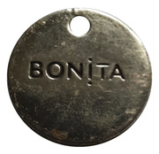 Shopping Cart Token - Bonita – obverse
