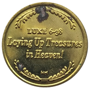 Token - Let the glory that falls on Mexico – reverse