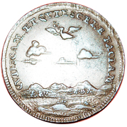 Token - Peace Negotiations in Nijmegen – obverse