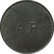 25 Spillemærke - A.P. – obverse