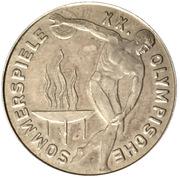 Token - XX Summer Olympics - World Savings Day – obverse